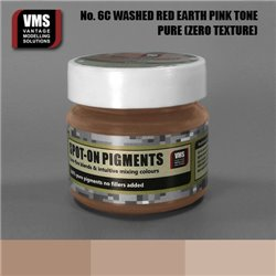 VMS VMS.SO.No6cZT Spot-on Pigments No. 06c ZERO Red Earth Washed Pink Tone 45ml