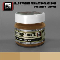 VMS VMS.SO.No6bZT Spot-on Pigments No. 06b ZERO Red Earth Washed Orange Tone 45ml