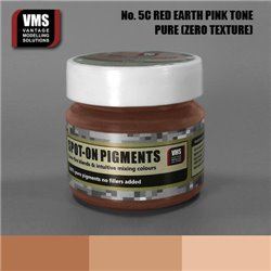 VMS VMS.SO.No5cZT Spot-on Pigments No. 05c ZERO Red Earth Pink Tone 45ml