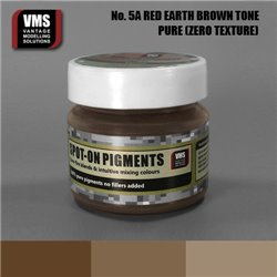 VMS VMS.SO.No5aZT Spot-on Pigments No. 05a ZERO Red Earth Brown Tone 45ml