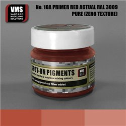 VMS VMS.SO.No10aZT Spot-on Pigments No. 10a Primer Red RAL 3009 Actual 45ml