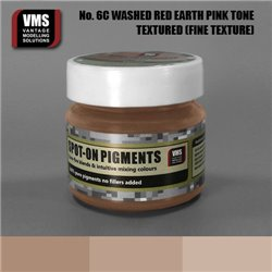 VMS VMS.SO.No6cFT Spot-on Pigments No. 06c FINE Red Earth Washed Pink Tone 45ml