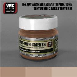 VMS VMS.SO.No6cCT Spot-on Pigments No. 06c COARSE Red Earth Washed Pink Tone 45ml