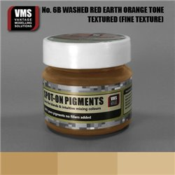 VMS VMS.SO.No6bFT Spot-on Pigments No. 06b FINE Red Earth Washed Orange Tone 45ml