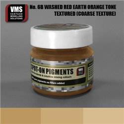 VMS VMS.SO.No6bCT Spot-on Pigments No. 06b COARSE Red Earth Washed Orange Tone 45ml