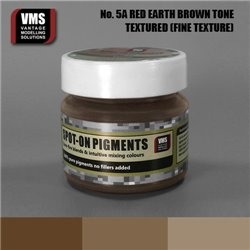 VMS VMS.SO.No5aFT Spot-on Pigments No. 05a FINE Red Earth Brown Tone 45ml