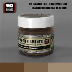 VMS VMS.SO.No5aCT Spot-on Pigments No. 05a COARSE Red Earth Brown Tone 45ml