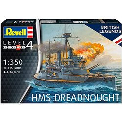 REVELL 05171 1/350 HMS Dreadnought