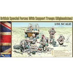 GECKO MODELS 35GM0023 1/35 British Special Forces W/Support Troops