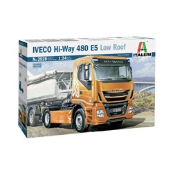 ITALERI 3928 1/24 IVECO Hi-Way 480 E5 (Low Roof)