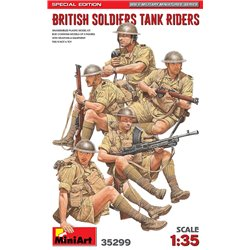 MINIART 35299 1/35 British Soldiers Tank Riders