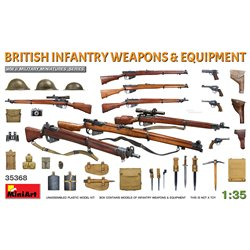 MINIART 35368 1/35 British Infantry Weapons & Equipment