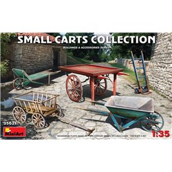 MINIART 35621 1/35 Small Carts Collection