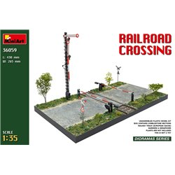 MINIART 36059 1/35 Railroad crossing