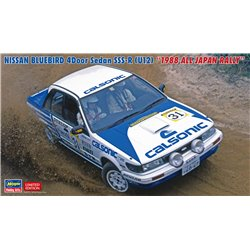 "HASEGAWA 20470 1/24 Nissan Bluebird 4Door Sedan SSS-R (U12) ""1988 All Japan Rally"""