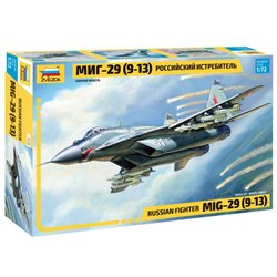ZVEZDA 7278 1/72 MiG-29 (9-13) Russian Fighter
