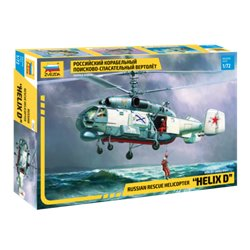 """ZVEZDA 7247 1/72 Russian Rescue Helicopter """"HELIX D"""""""