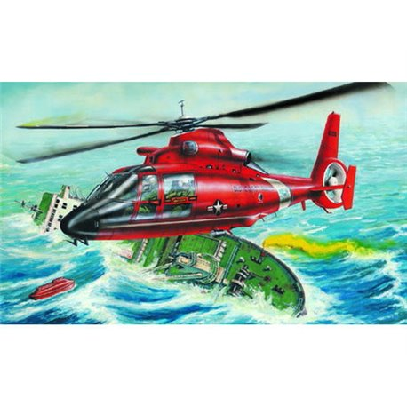 TRUMPETER 02801 1/48 Aerospatiale HH-65A Dolphin