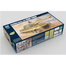 TRUMPETER 00910 1/16 German King Tiger 2 in 1