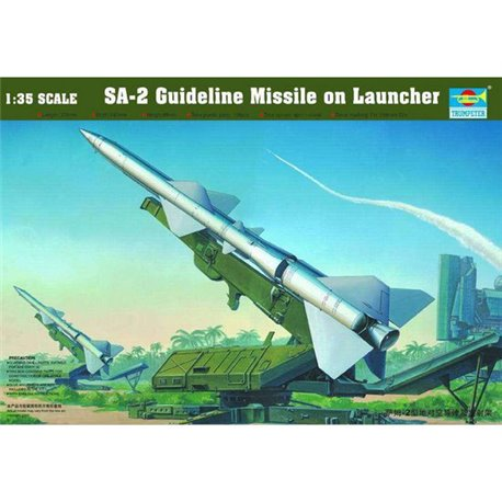 TRUMPETER 00206 1/35 SA-2 Guideline Missile w/Launcher Cabin