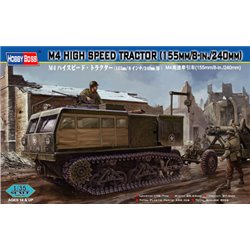 HOBBY BOSS 82408 1/35 M4 High Speed Tractor(155mm/8-in./240mm)