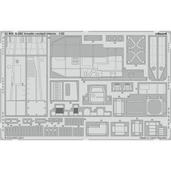 EDUARD 32983 1/32 A-26C Invader cockpit interior
