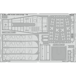 EDUARD 32464 1/32 A-26C Invader undercarriage