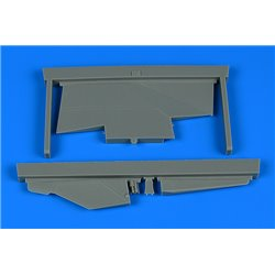 AIRES 2233 1/32 MiG-23ML correct tail fin for Trumpeter