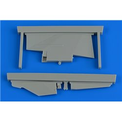 AIRES 2235 1/32 MiG-23MF/MLD correct tail fin for trumpeter