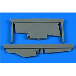 AIRES 2238 1/32 MiG-23BN correct tail fin for Trumpeter