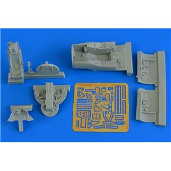 AIRES 4773 1/48 Hawker Hunter F.6 cockpit set for Airfix