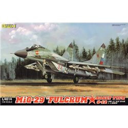 "GREAT WALL HOBBY L4814 1/48 MiG-29 ""Fulcrum"" Early Type 9-12"