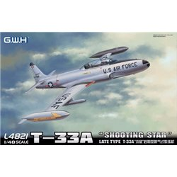 "GREAT WALL HOBBY L4821 1/48 T-33A ""Shooting Star"" Late Type T-33"