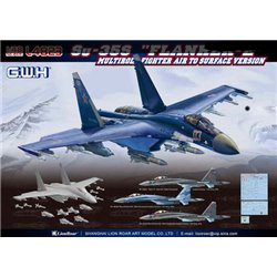"GREAT WALL HOBBY L4823 1/48 Su-35S ""Flanker-E"" Multirole Fighter Air to Surface Version"