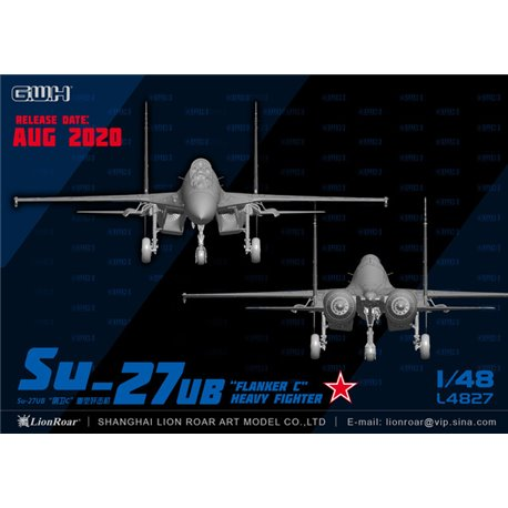 GREAT WALL HOBBY L4827 1/48 Su-27UB Flanker-C Heavy Fighter