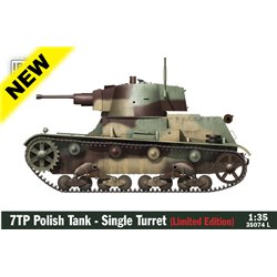 IBG MODELS 35074L 1/35 7TP Polish Tank - Single Turret