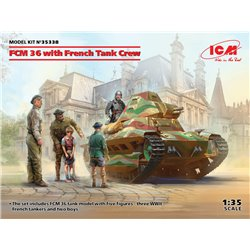 ICM 35338 1/35 FCM 36 with French Tank Crew