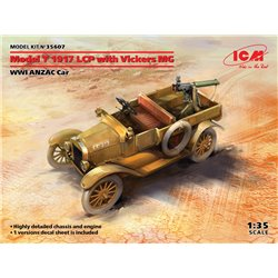 ICM 35607 1/35 Model T 1917 LCP with Vickers MG, WWI ANZAC Car