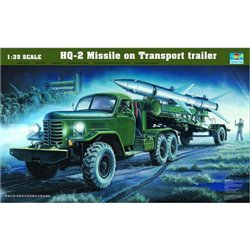 TRUMPETER 00205 1/35 HQ-2 Guideline Missile w/Loading Cabin