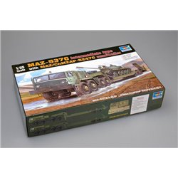 TRUMPETER 00211 1/35 MAZ-537G intermediate Type