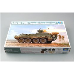 TRUMPETER 01558 1/35 LAV III TUA (Tower-Under-Armour)
