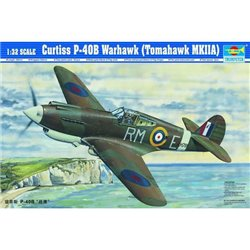 TRUMPETER 02228 1/32 Curtiss P-40B Warhawk
