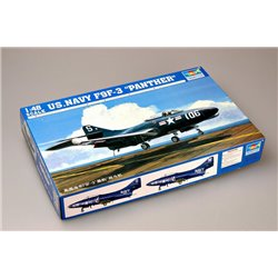 TRUMPETER 02834 1/48 US Navy F9F-3 'Panther'