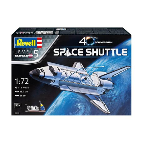 REVELL 05673 1/72 Space Shuttle 40th Anniversary