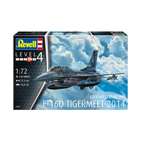 REVELL 03844 1/72 F-16D Fighting Falcon