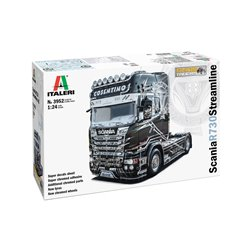 ITALERI 3952 1/24 Scania R730 Streamline 4×2 Show Trucks