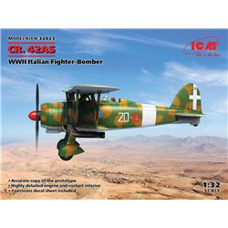 ICM 32023 1/32 CR. 42AS, WWII Italian Fighter-Bomber