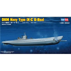 HOBBY BOSS 83508 1/350 German Navy Type IX-C U-Boat