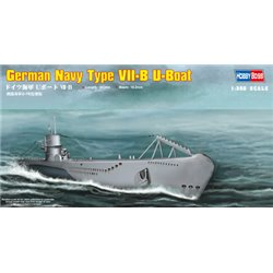 HOBBY BOSS 83504 1/350 German Navy Type VII-B U-Boat