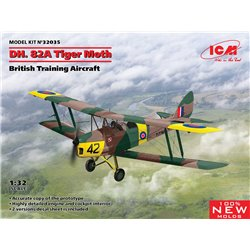 ICM 32035 1/32 D.H. 82A Tiger Moth, British Training Aircraft